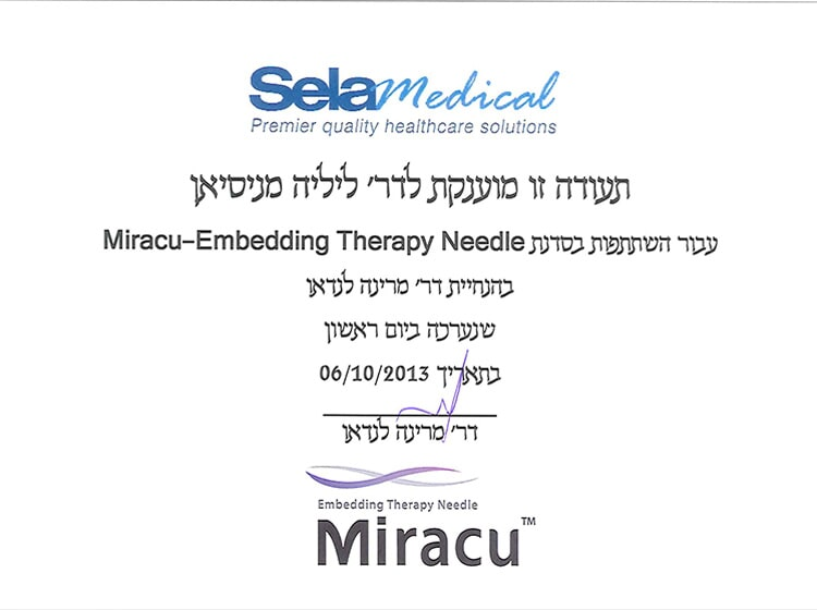 Miracu - Embedding Therapy Needle